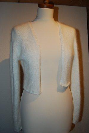 Bolero Brautkleid An gora Größe 36 helles creme weiß - neu!