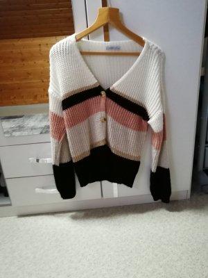 Haily's Boléro en tricot multicolore