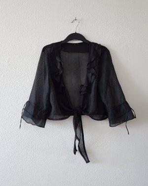 Bolero Jacke aus Chiffon