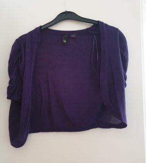 H&M Divided Boléro violet