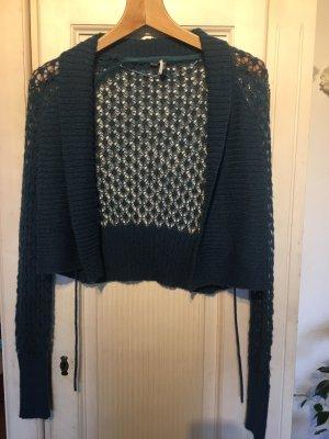 Esprit Knitted Bolero petrol