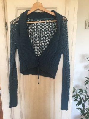 Esprit Veste tricotée en grosses mailles bleu pétrole-bleu cadet