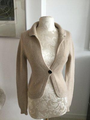 SØR Short Sleeve Knitted Jacket multicolored cashmere