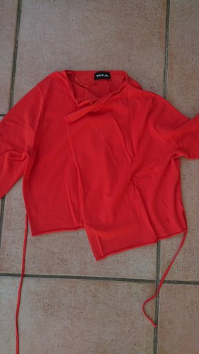 Taifun Knitted Bolero orange-red