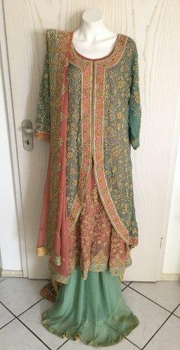 Bollywood Indische Pakistanische Kleidung 3 Teile Braut Henna Party Anlass in 2XL XXL 52 54