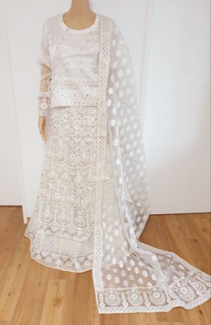 Bollywood indishe Hochzeit/Verlobung Fancy shafun Embroidered lehnga Kleidung