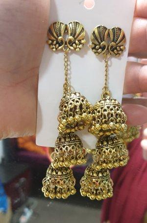 Bollywood Bungeloorbellen goud