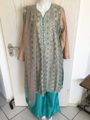 Bollywood Orientalische Indische Pakistanische Kleidung Outfit Set 3 Teilig