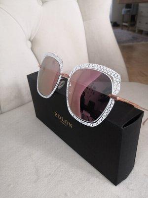 Bolon Sonnebrille rose und weiß/rosegold