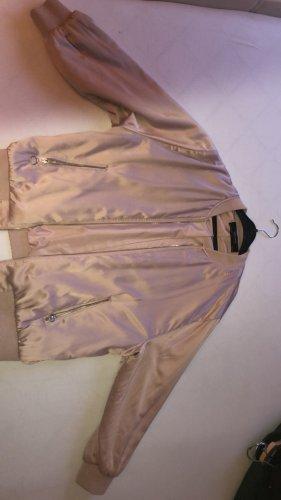 Zara Giacca bomber rosa antico-rosa pallido