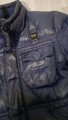 bomber jacke blauer