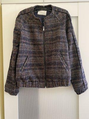 Bomber-Tweed-Jacke
