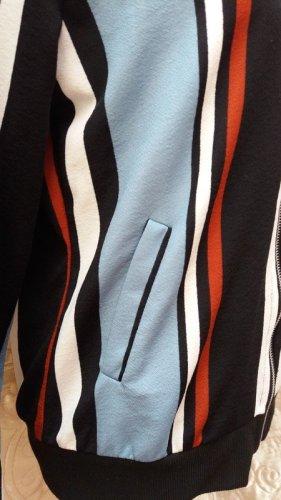 Blouson aviateur multicolore polyester