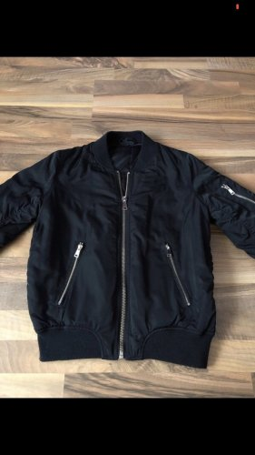 Topshop Giacca bomber nero