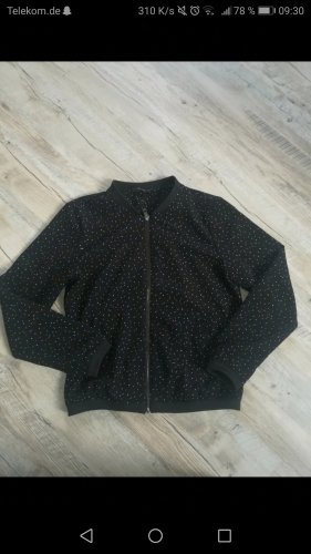 Only Giacca bomber bianco-nero