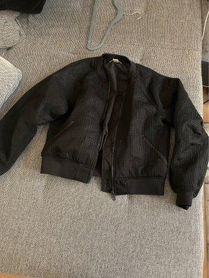 Veste d'aviateur noir