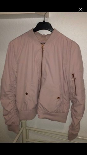 Bershka Chaqueta bomber color rosa dorado-rosa