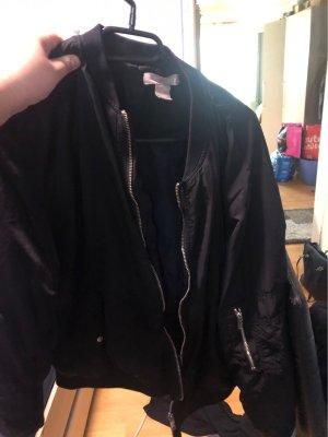 H&M Bomber Jacket black