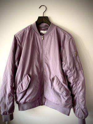 H&M Basic Giacca bomber color oro rosa