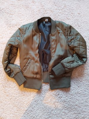 H&M Flight Jacket olive green