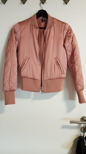 H&M Divided Bomber Jacket dusky pink