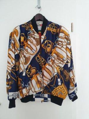 Bomberjacke Blouson Wendejacke Jacke True Vintage XL Oversize