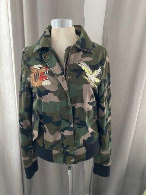 Blonde No. 8 Bomber Jacket multicolored cotton