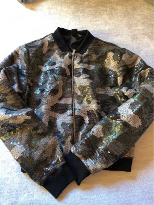 Bomberjacke Camouflage