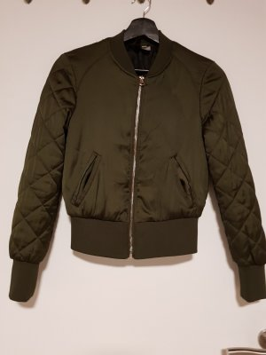 H&M Divided Bomber Jacket khaki