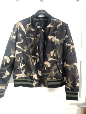 Blue Monkey Giacca bomber multicolore Poliestere