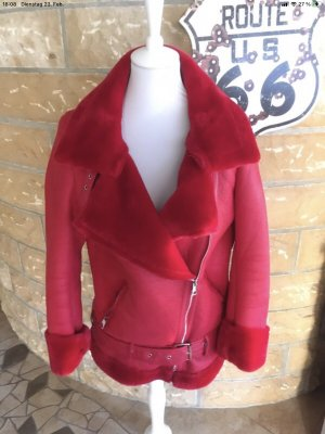 Style Mode Giacca bomber rosso