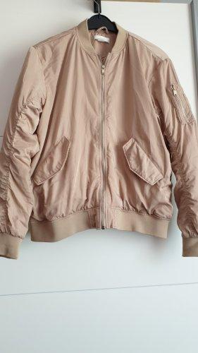 H&M Giacca bomber color oro rosa-rosa antico