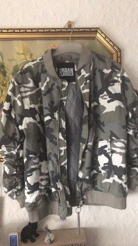 Urban Classics Bomber Jacket grey-light grey
