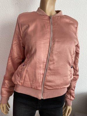 Bomberjacke Jacke Rosa Gr. M Pink Rose Outerwear Fliegerjacke