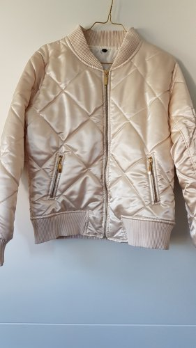 no name Bomber Jacket gold-colored-cream