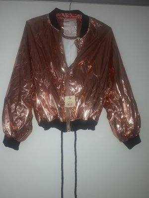 Bomberjacke rose gold