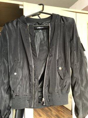 kurtka bomberka jasny szary new yorker