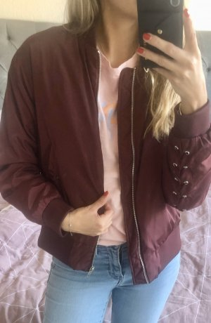 NA-KD Giacca bomber bordeaux