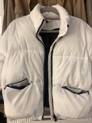 H&M Bomber Jacket white