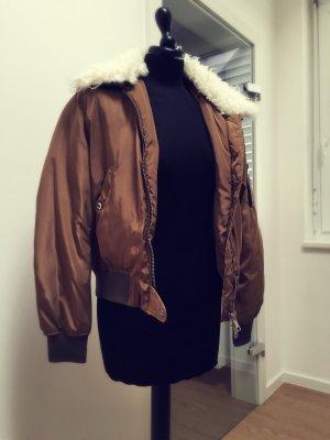 Bomberjacke Winterjacke von Zara