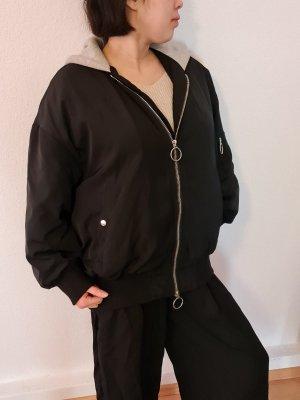 Zara Bomber Jacket black