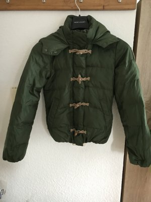 Bomboogie Down Jacket forest green-beige polyester