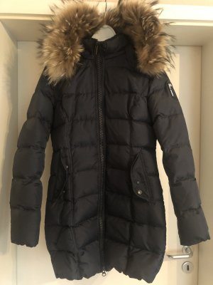 Bomboogie Down Jacket dark blue pelt