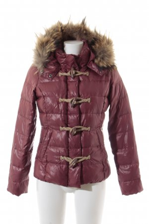 Bomboogie Down Jacket dark red casual look