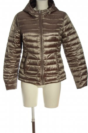 Bomboogie Hoody bronze-colored quilting pattern casual look