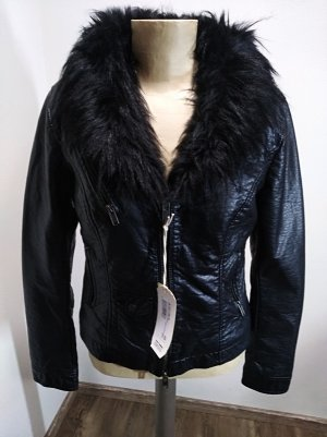 Bomboogie Faux Leather Jacket black