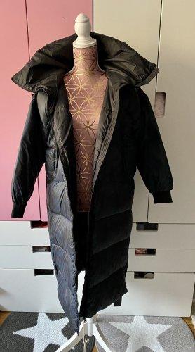 Bomboogie Płaszcz puchowy ciemnoniebieski-czarny