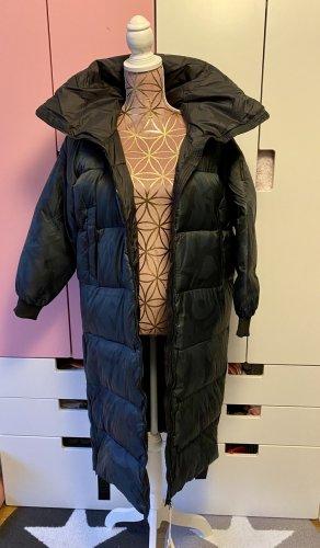 Bomboogie Płaszcz puchowy ciemnozielony-czarny