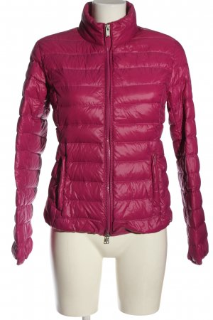 Bomboogie Quilted Jacket pink quilting pattern casual look