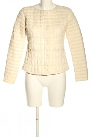 Bomboogie Quilted Jacket cream quilting pattern casual look